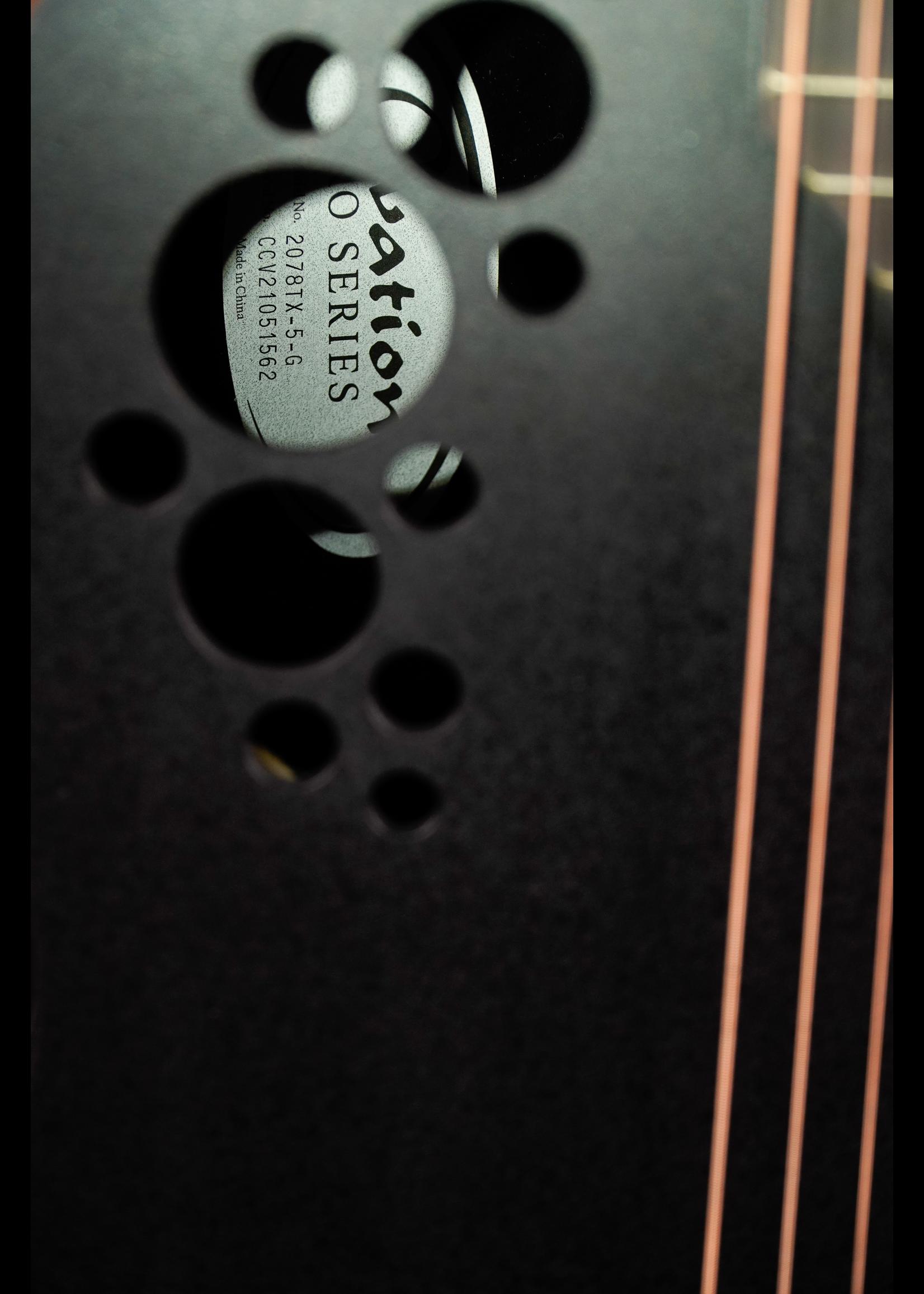 Ovation Ovation 2078TX-5 Deep Bowl Contour, Black