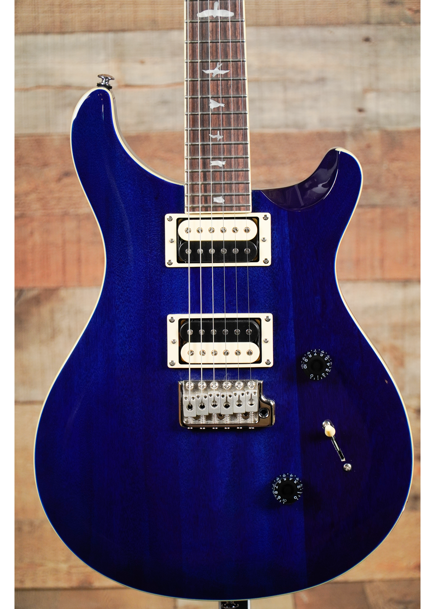 Paul Reed Smith Paul Reed Smith SE Standard 24 Translucent Blue