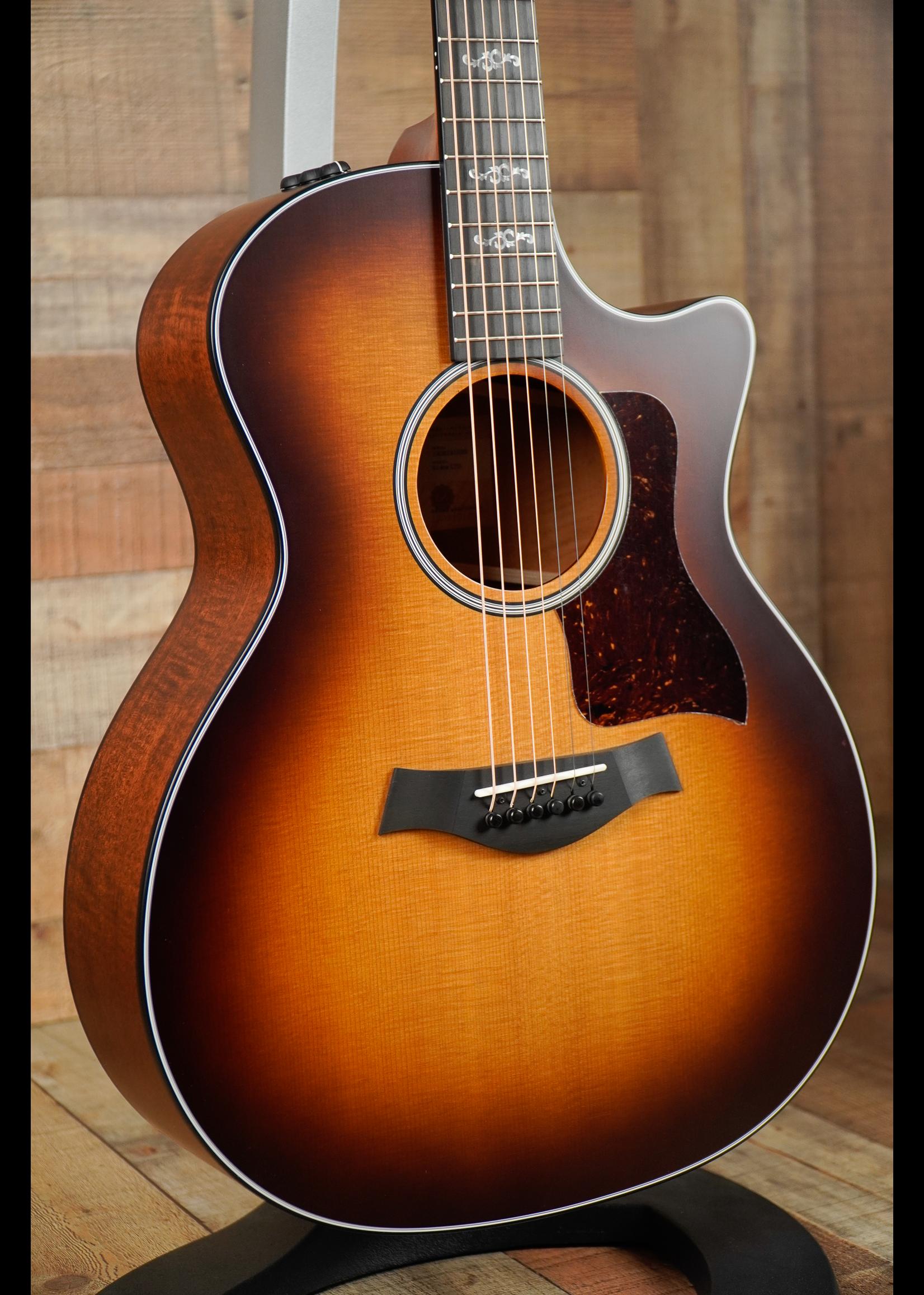 Taylor Taylor 314CE Torrefied Spruce, Figured Mahogany Back & Sides LTD 3 Tone Sunburst