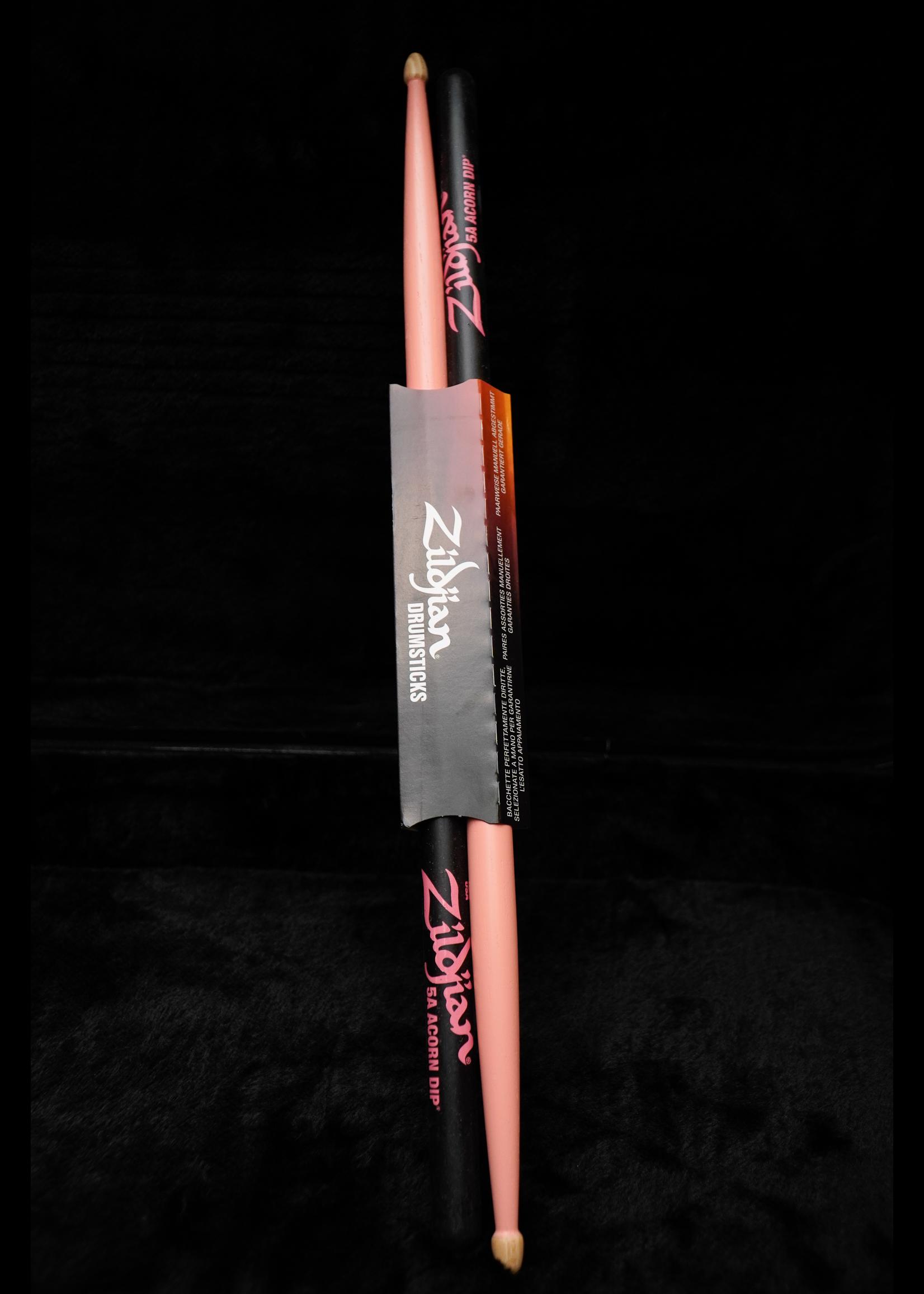 Zildjian Zildjian 5A Acorn Pink Drumsticks