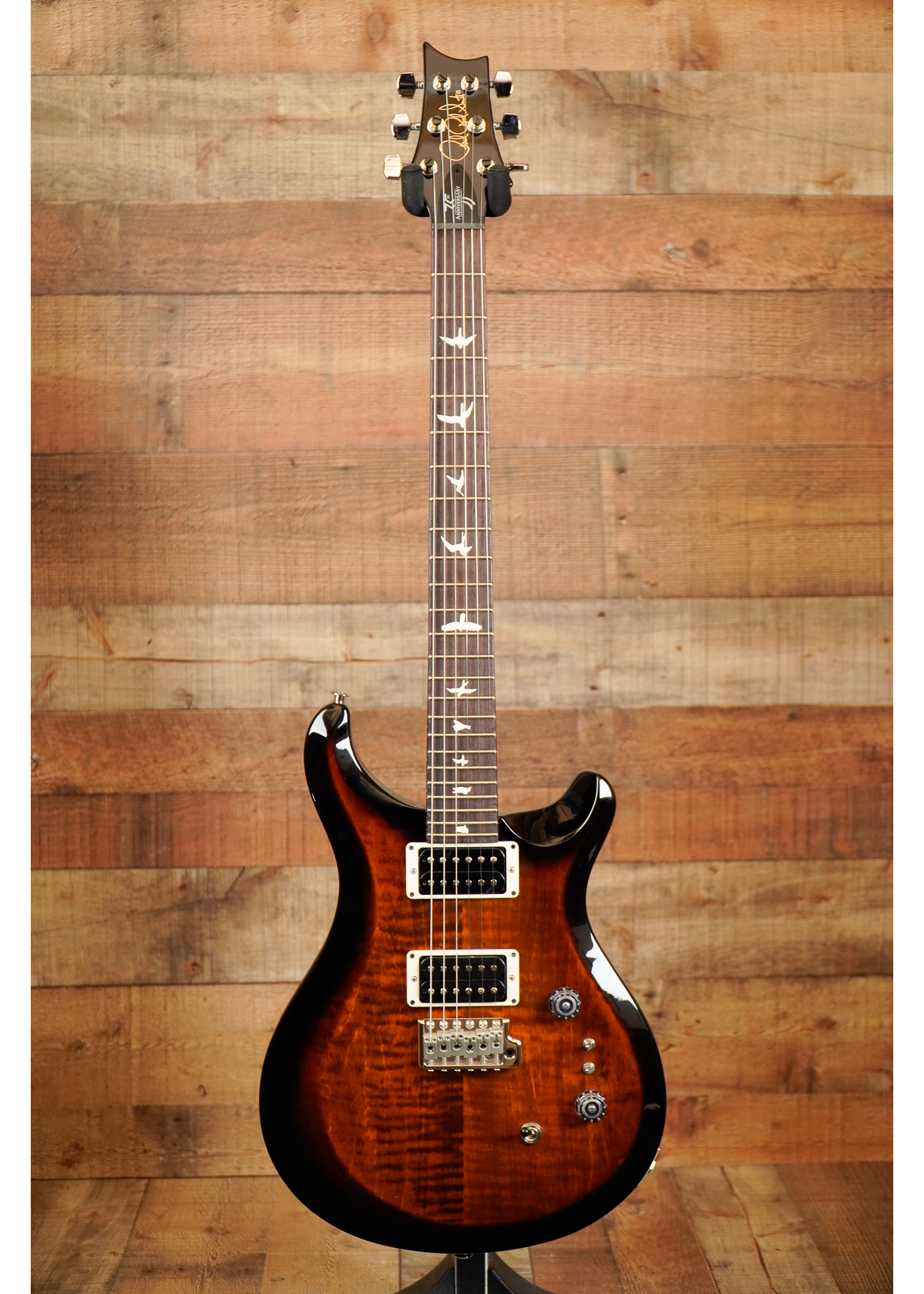 Paul Reed Smith PRS 35th Anniversary S2 Custom 24  Burnt Amber