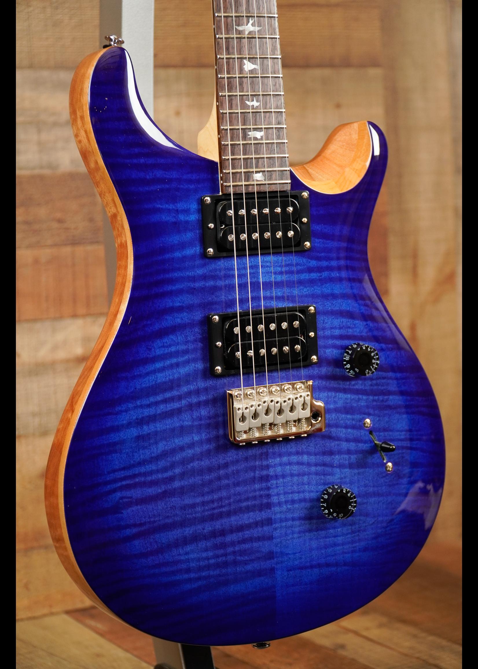Paul Reed Smith PRS SE Custom 24 Faded Blue Burst
