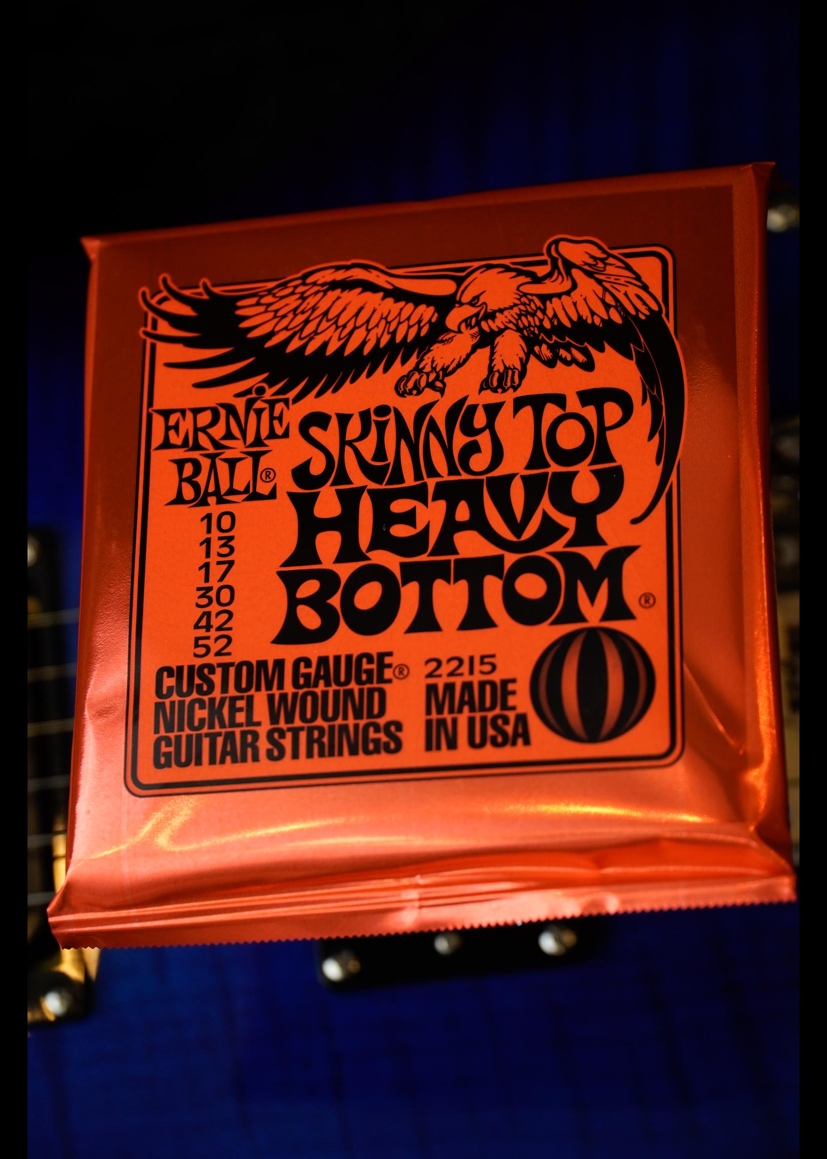 ernie ball Ernie Ball Skinny Top Heavy Bottom Slinky Nickel Wound Electric Guitar Strings - 10-52 Gauge