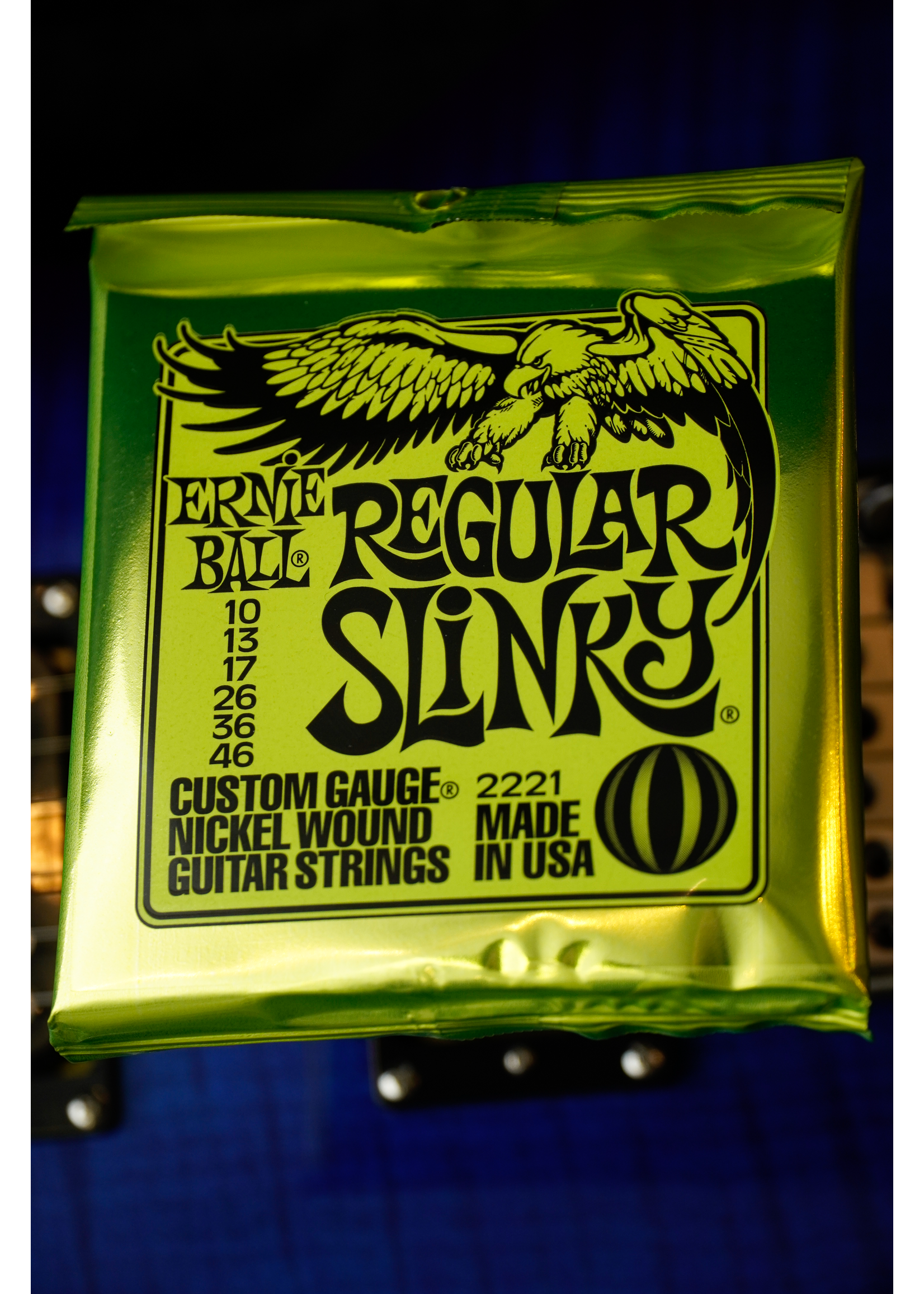 ernie ball Ernie Ball Regular Slinky Nickel Wound Electric Guitar Strings - 10-46 Gauge