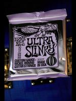 ernie ball Ernie Ball Ultra Slinky Nickelwound Electric Guitar Strings 10 - 48 Gauge