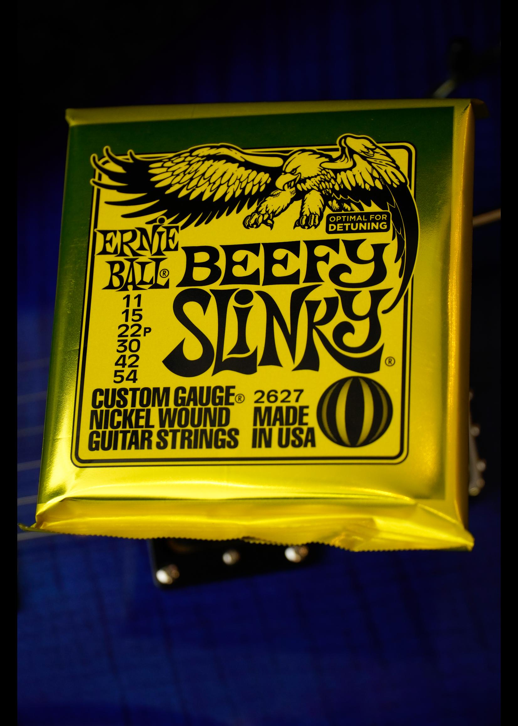 ernie ball Ernie Ball Beefy Slinky Nickel Wound Electric Guitar Strings - 11-54 Gauge