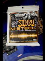 ernie ball Ernie Ball Hybrid Slinky M-Steel Electric Guitar Strings - 9-46 Gauge