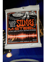 ernie ball Ernie Ball Skinny Top Heavy Bottom Slinky M-Steel Electric Guitar Strings - 10-52 Gauge