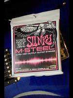ernie ball Ernie Ball Super Slinky M-Steel Electric Guitar Strings - 9-42 Gauge
