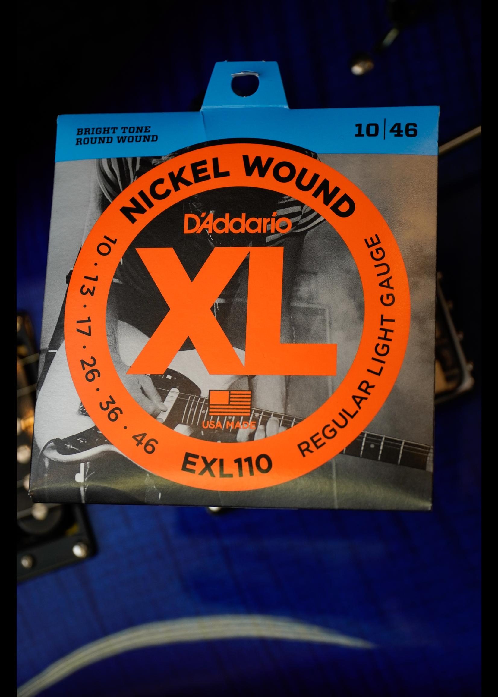 d'addario D'Addario 10-46 Regular Light, XL Nickel