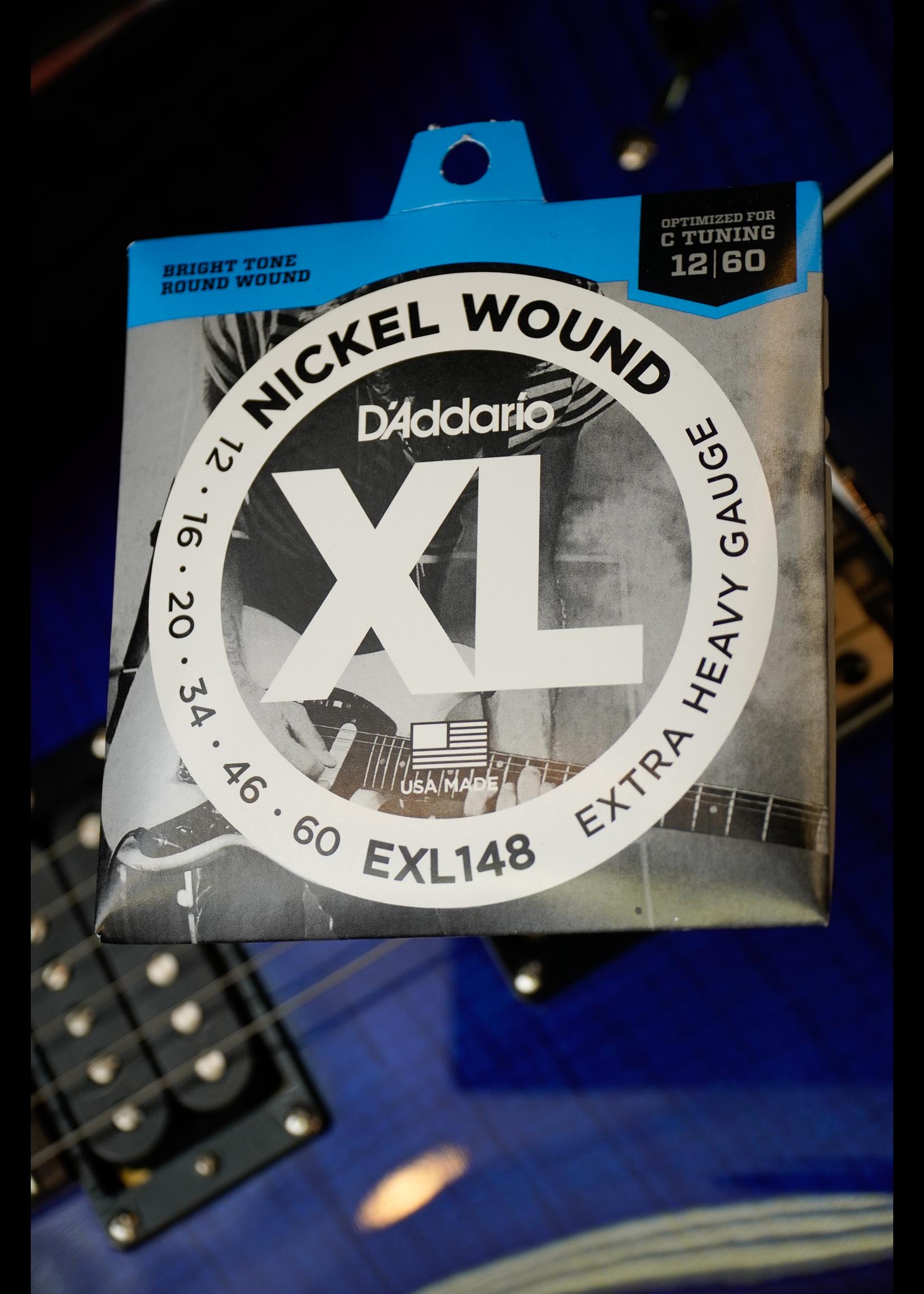 d'addario D'Addario 12-60 Extra-Heavy, XL Nickel