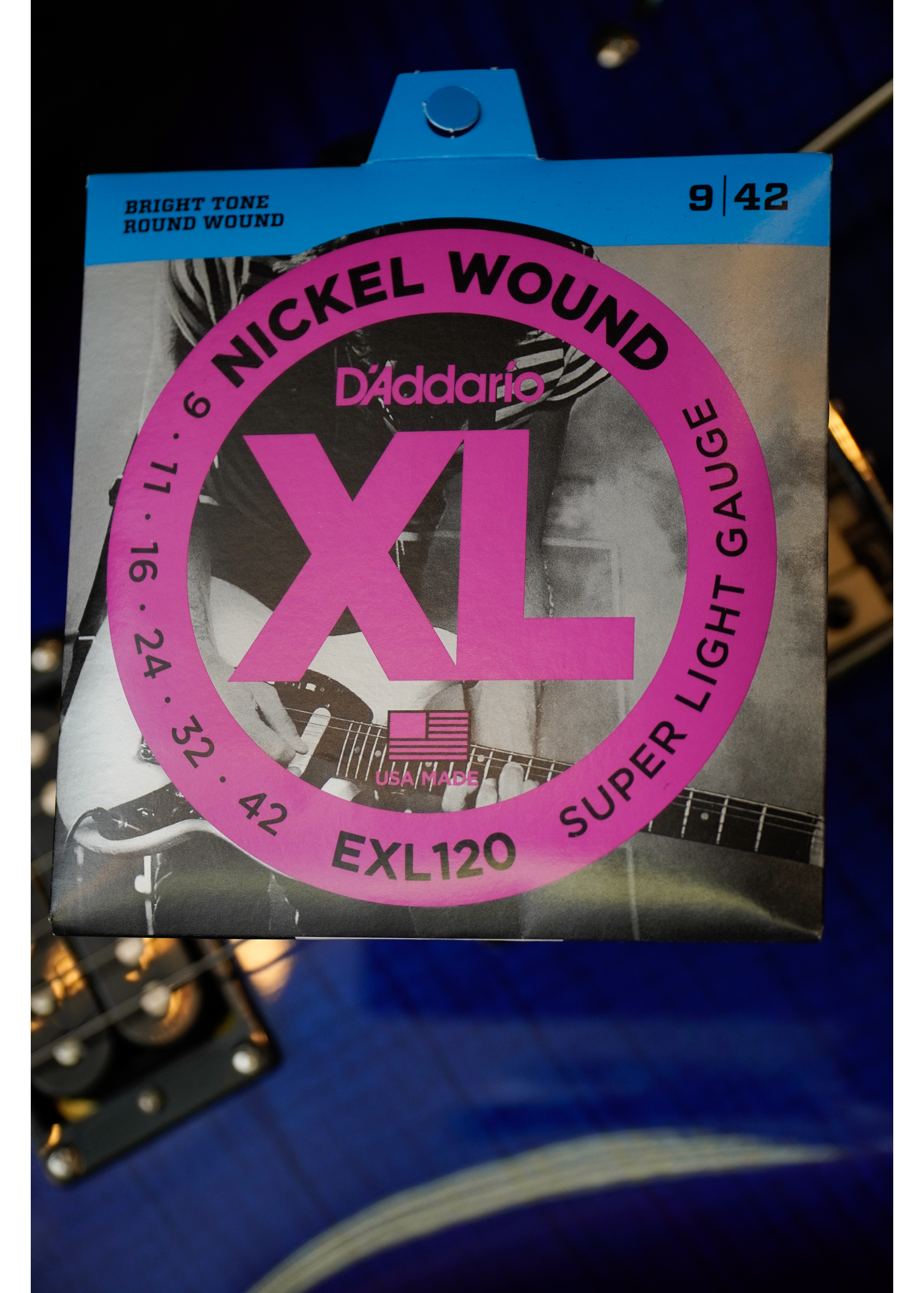 d'addario D'Addario 09-42 Super Light, XL Nickel