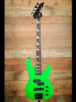 Jackson Jackson JS Series Concert™ Bass Minion JS1X, Amaranth Fingerboard, Neon Green