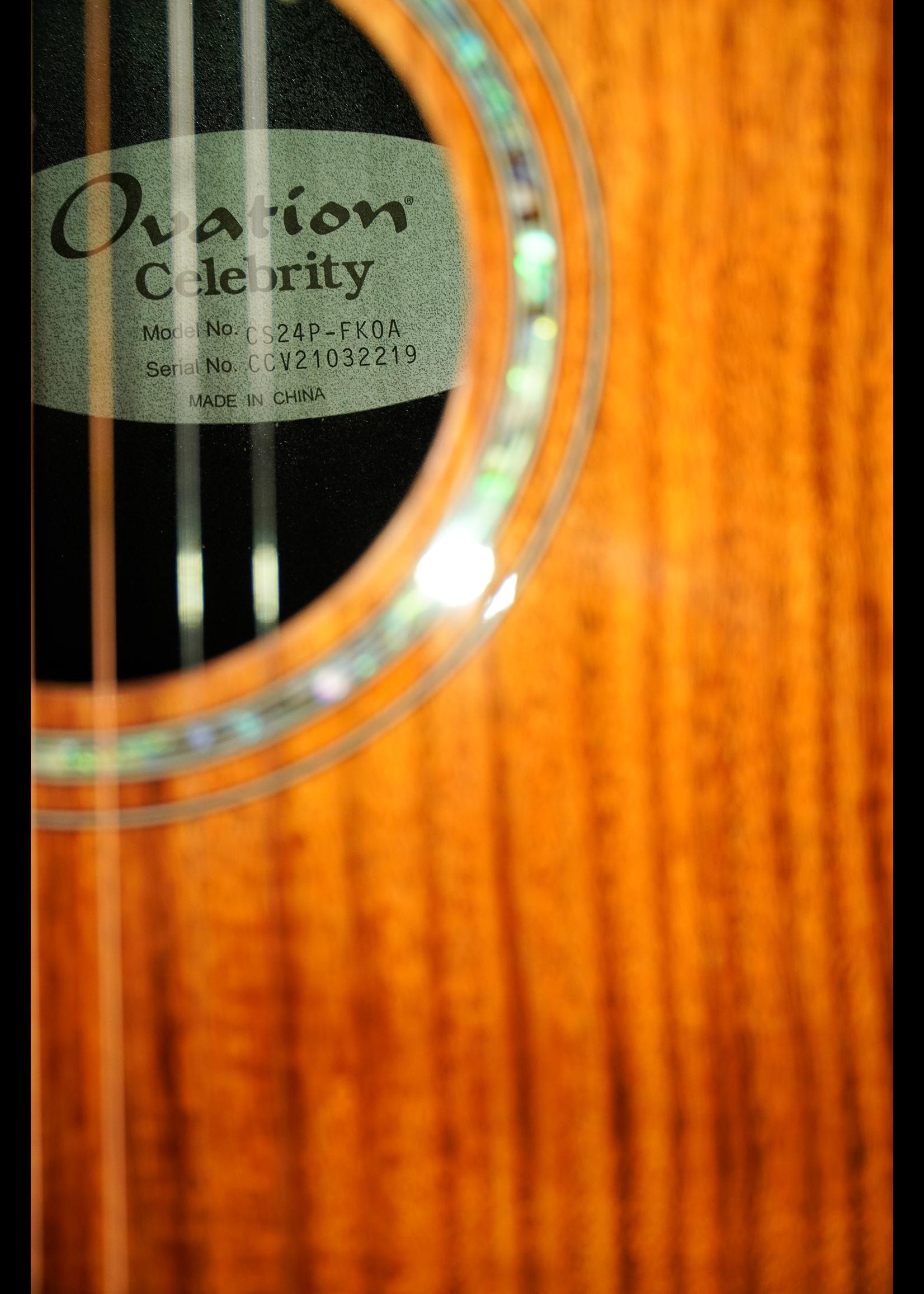 Ovation Ovation Celebrity CS24P-FKOA