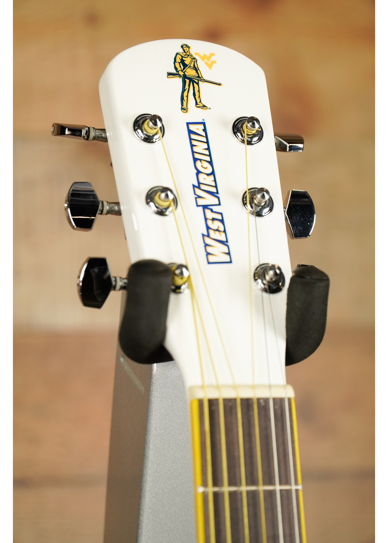 indiana guitar company Indiana Guitar Company Collegiate Acoustic Guitar 2014 WVU