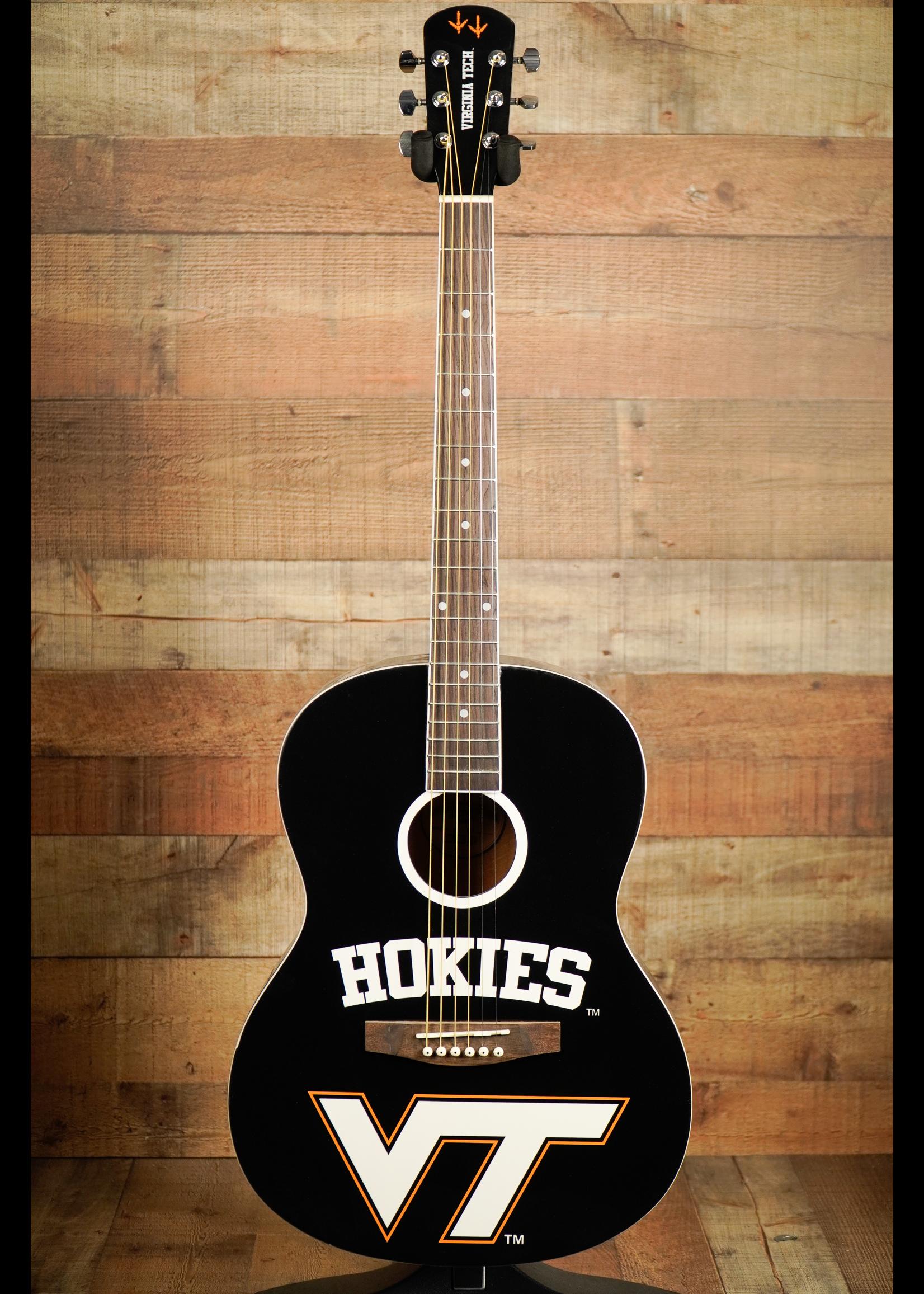 indiana guitar company Indiana Guitar Company Collegiate Acoustic Guitar 2014 Virginia Tech Hokies