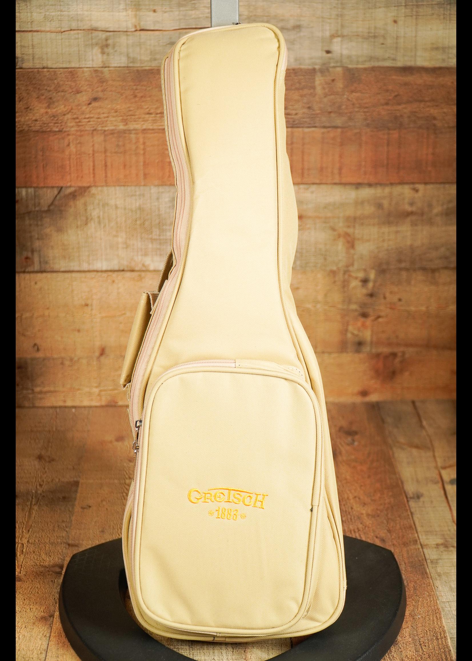 Gretsch Gretsch G9112 Resonator-Ukulele with Gig Bag, Ovangkol Fingerboard, Biscuit Cone, Honey Mahogany Stain