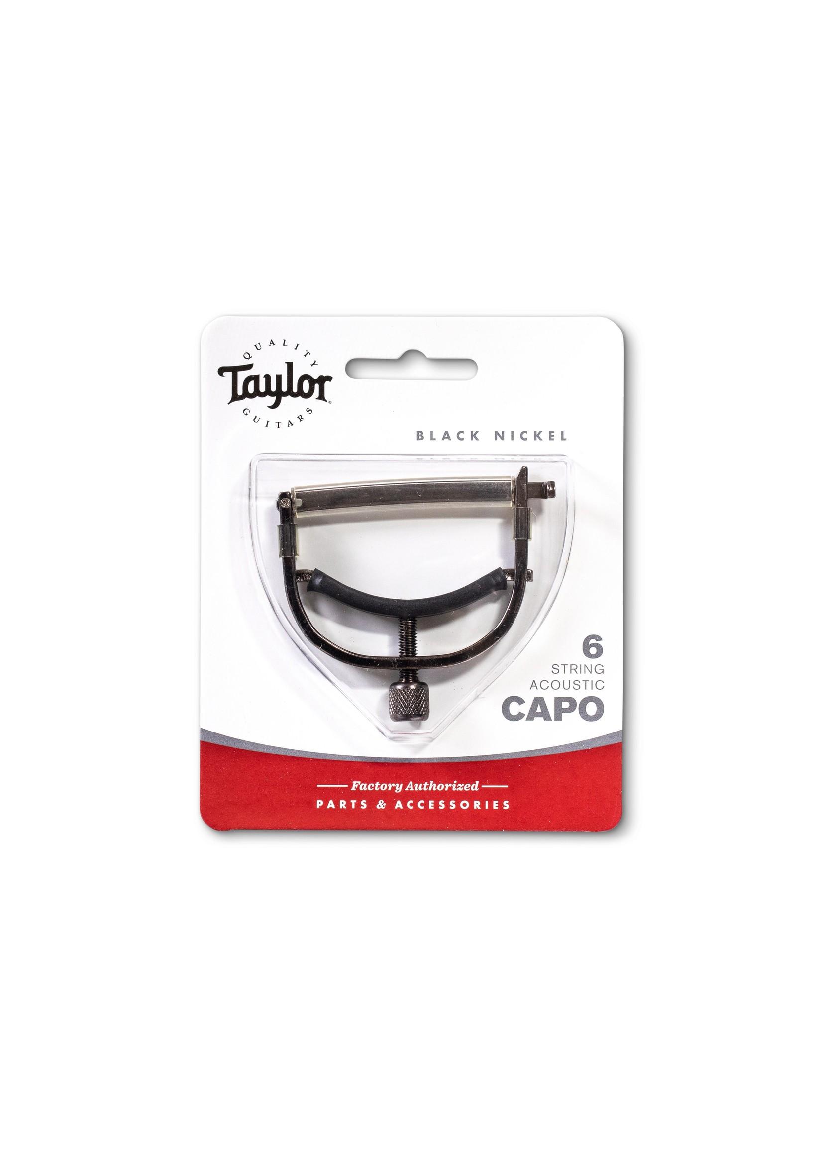 Taylor Taylor Capo 6-String Black Nickel