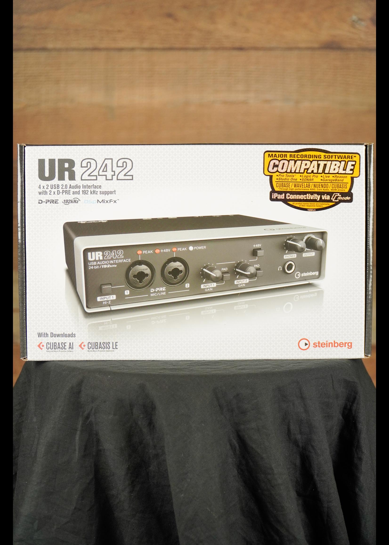 Steinberg Steinberg UR242 4x2 USB 2.0 Audio Interface w/ MIDI I/O