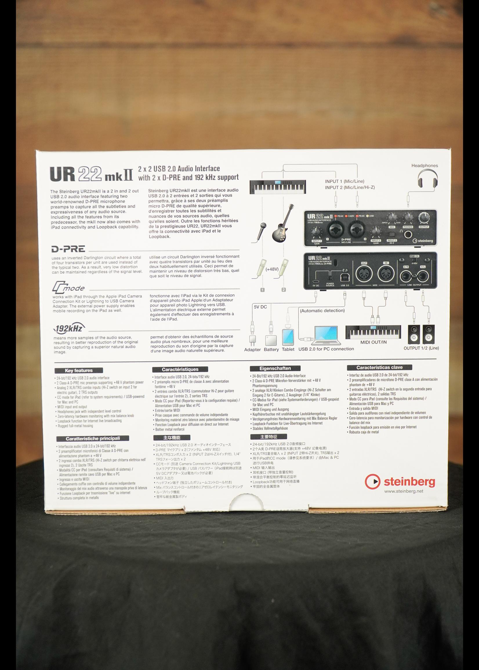 Steinberg Steinberg UR22CMKII USB Audio Interface