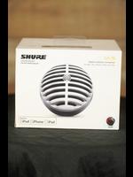 Shure Shure MV5 Digital Condenser Microphone (Black) + USB & Lightning Cable