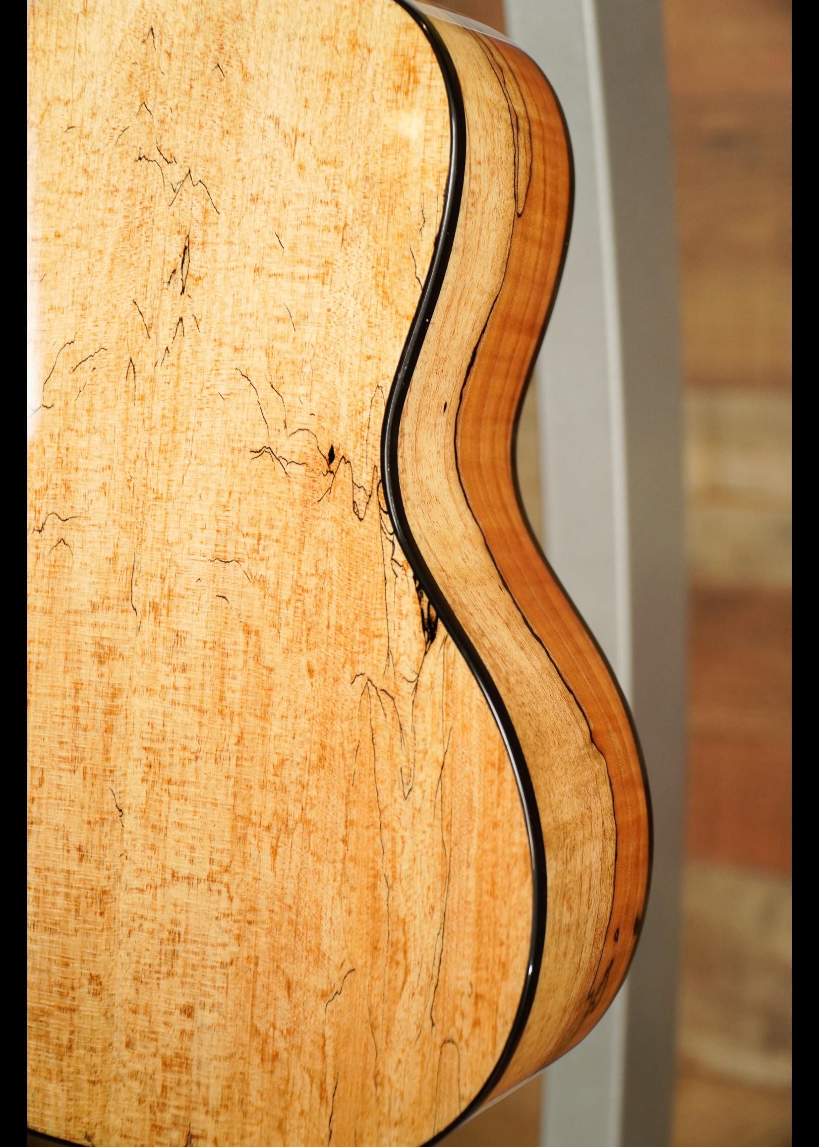 Teton Teton TS130SMG Natural/Splatted Maple Back & Sides