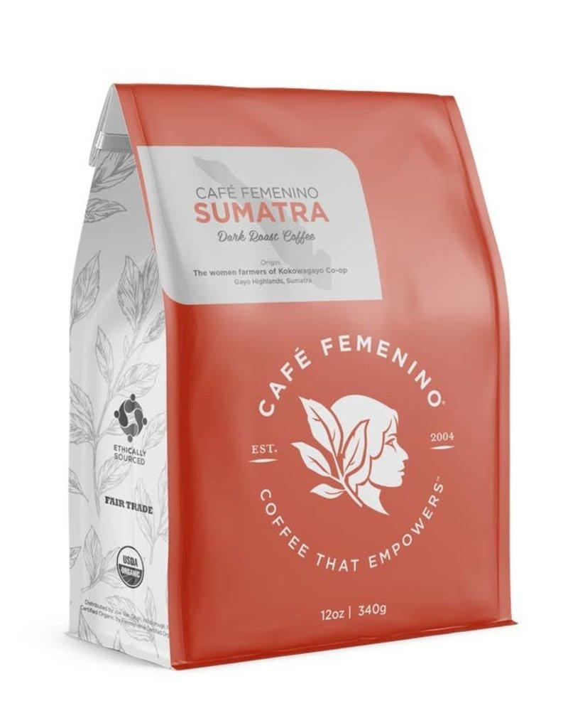 Cafe Feminino Sumatra Dark Roast Coffee