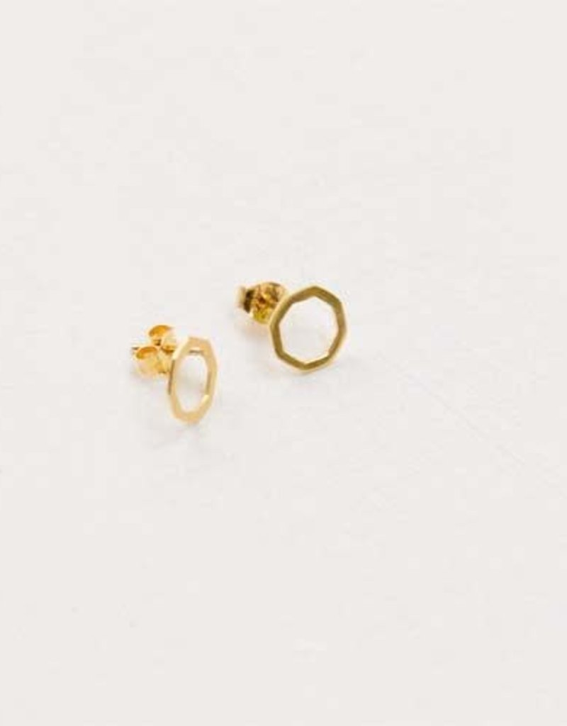 Mariana Geometric Stud Earrings