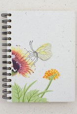 Mr. Ellie Pooh Butterfly Natural White Notebook