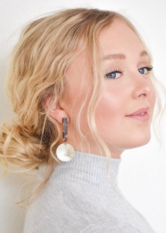 Ellison Coin Earrings