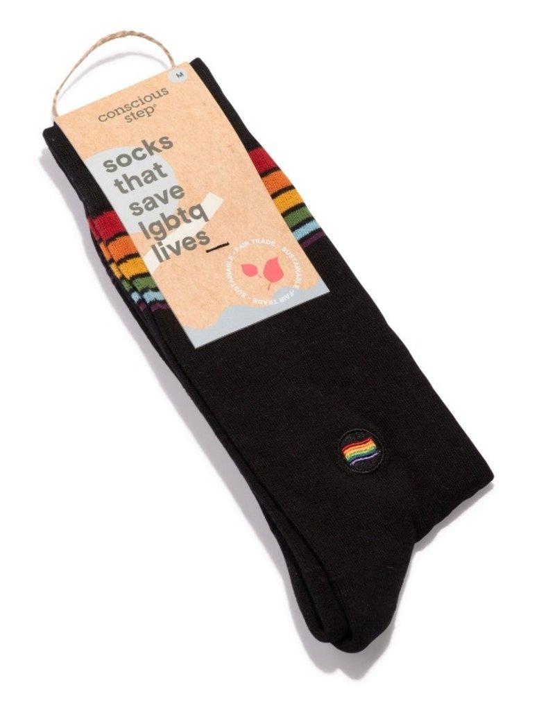 Conscious Step Socks that Save LGBTQ Lives