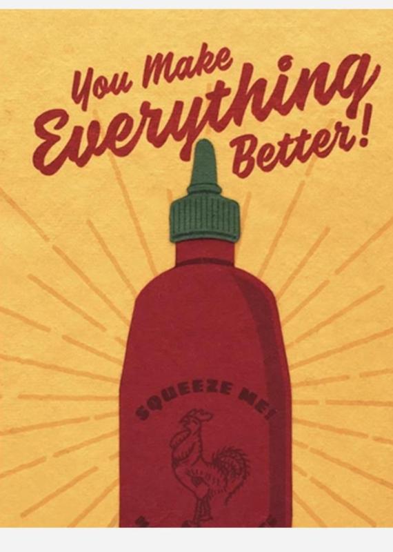 Sriracha Love Greeting Card