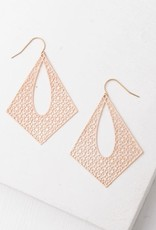 Starfish Project Everly Gold Filigree Dangle Earrings