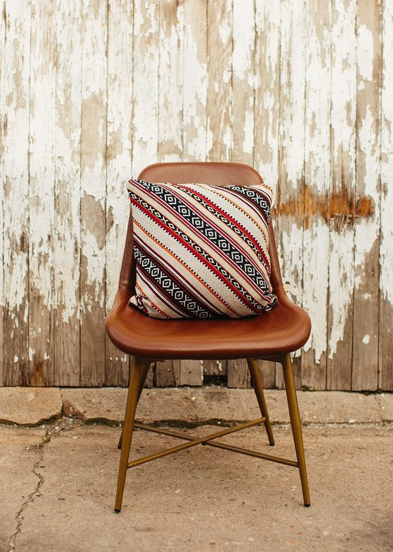 Tribalogy Red Ivory Pillow