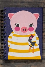 Mr. Ellie Pooh Paula the Pig Notebook