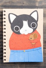 Mr. Ellie Pooh Gregory the Cat Notebook