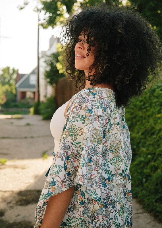Mujeres Con Vision Odra Kimono