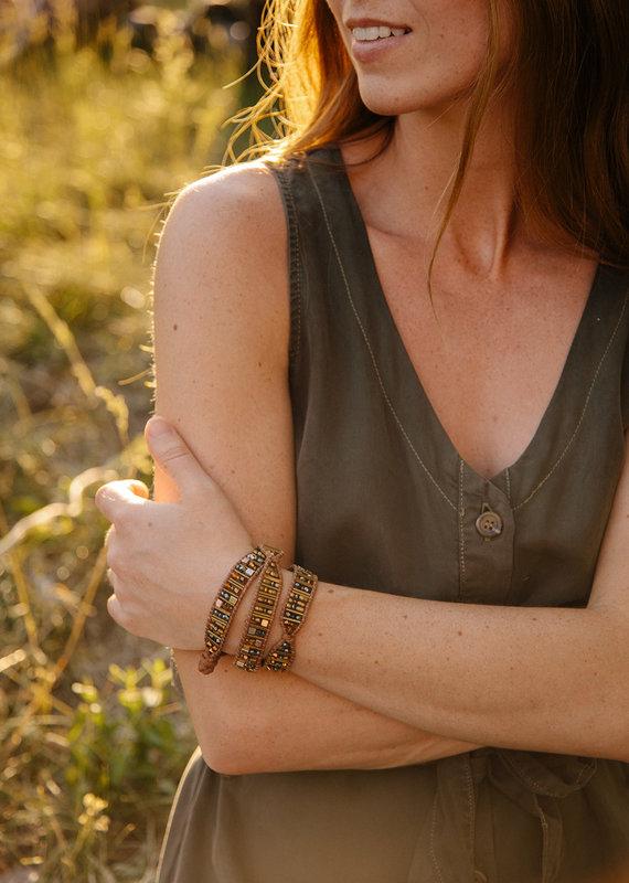 Damascus Concepts Zeinah Wrap Bracelet