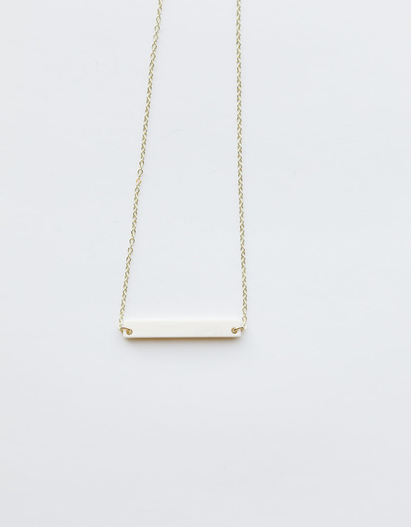 Betty Horn Necklace