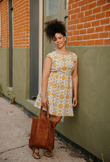 Chilmark Yellow Tile Dress