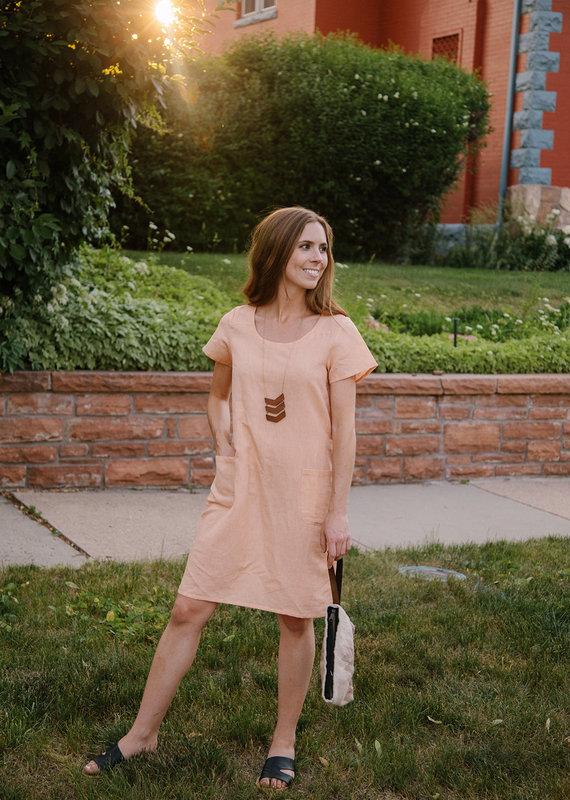 Mata Traders Kensington Linen Dress
