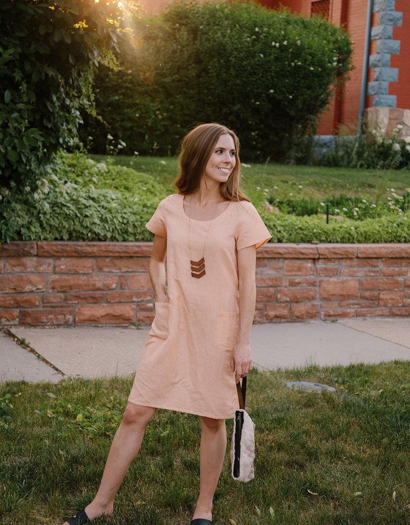 Kensington Linen Dress