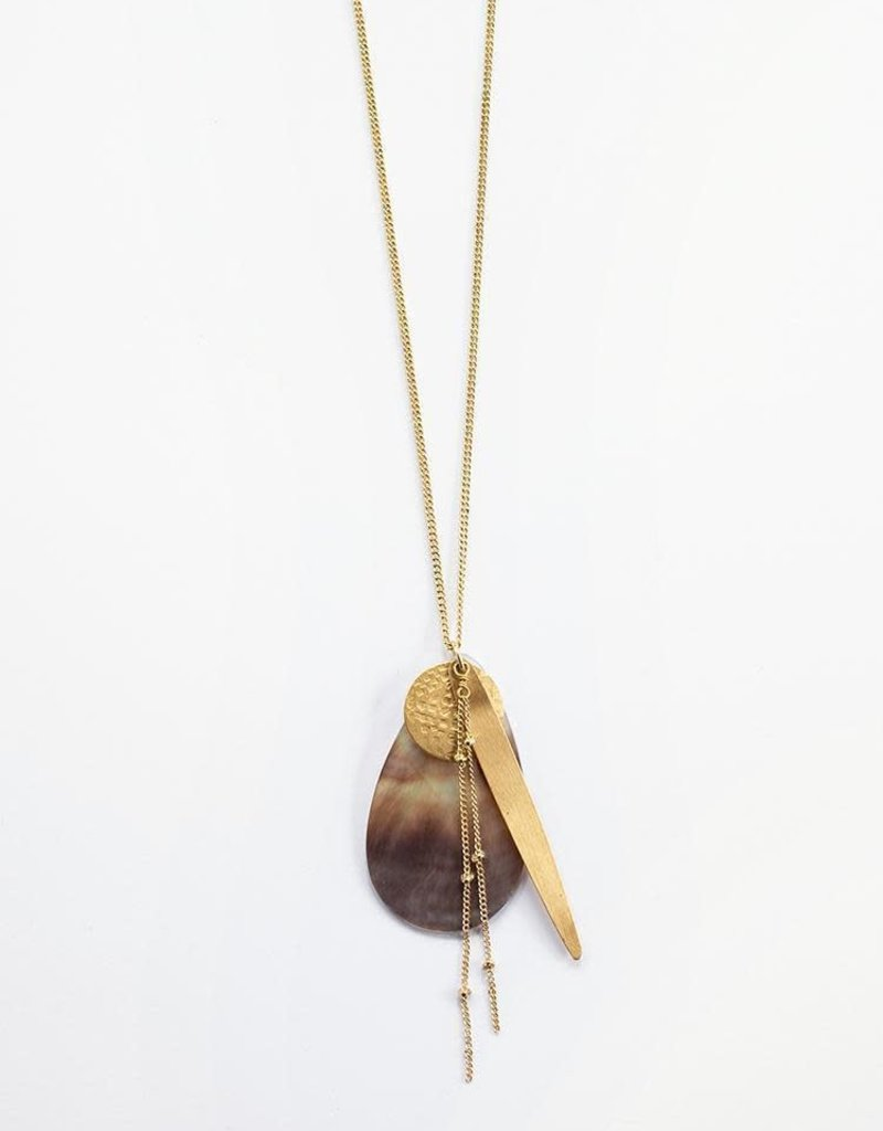 Meridian Shell Necklace
