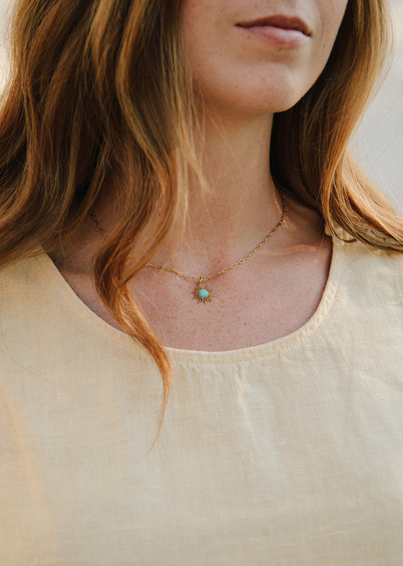 Starfish Project Radiance Turquoise Necklace
