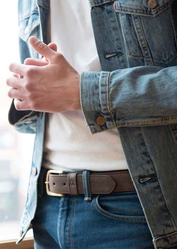 Elevate People Men's Brown Belt