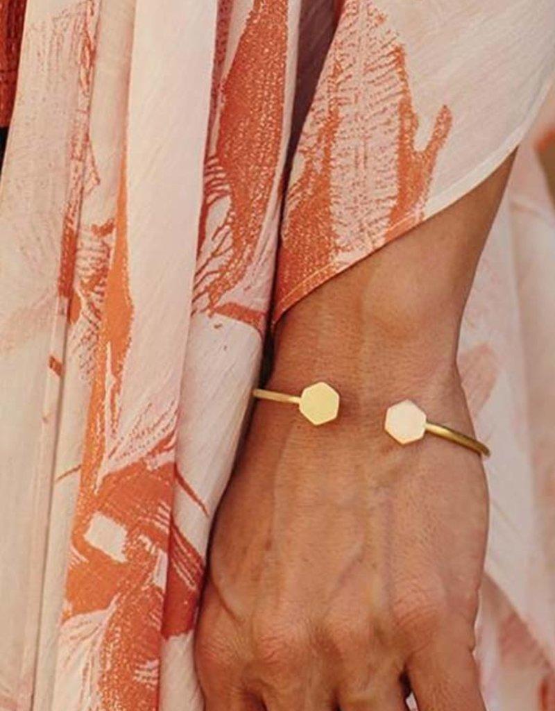 Hexagon Strand Bracelet