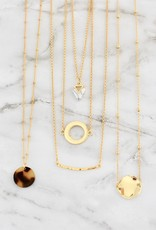 Marley Open Circle Necklace