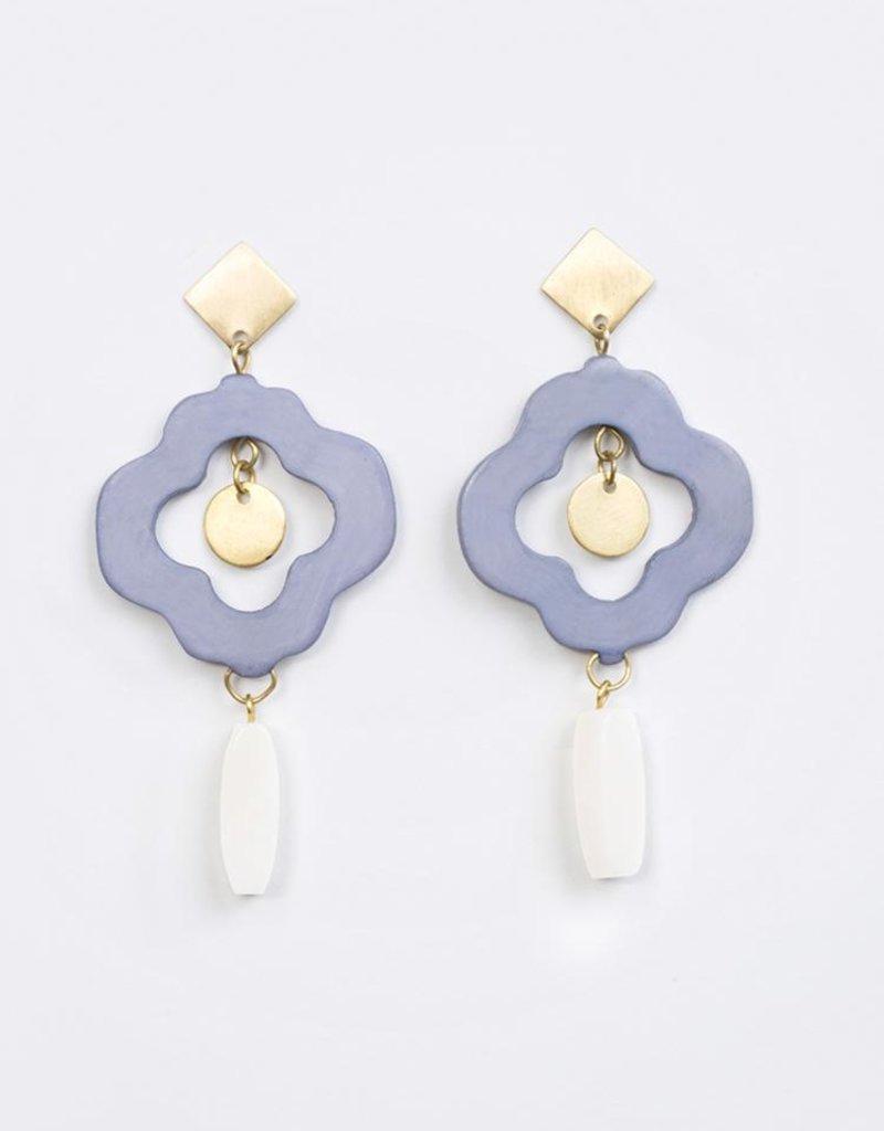 Agra Blue Earrings