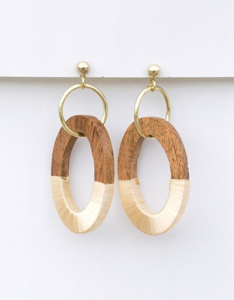 Berkeley Wood Earrings