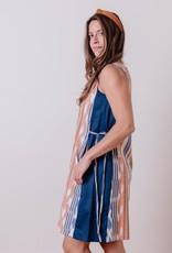 Dakota Rainbow Ikat Dress
